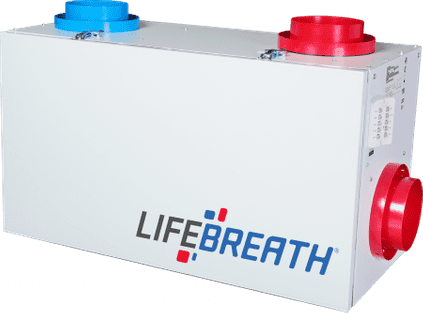 Lifebreath 155 MAX Residential Heat Recovery Ventilator (HRV)